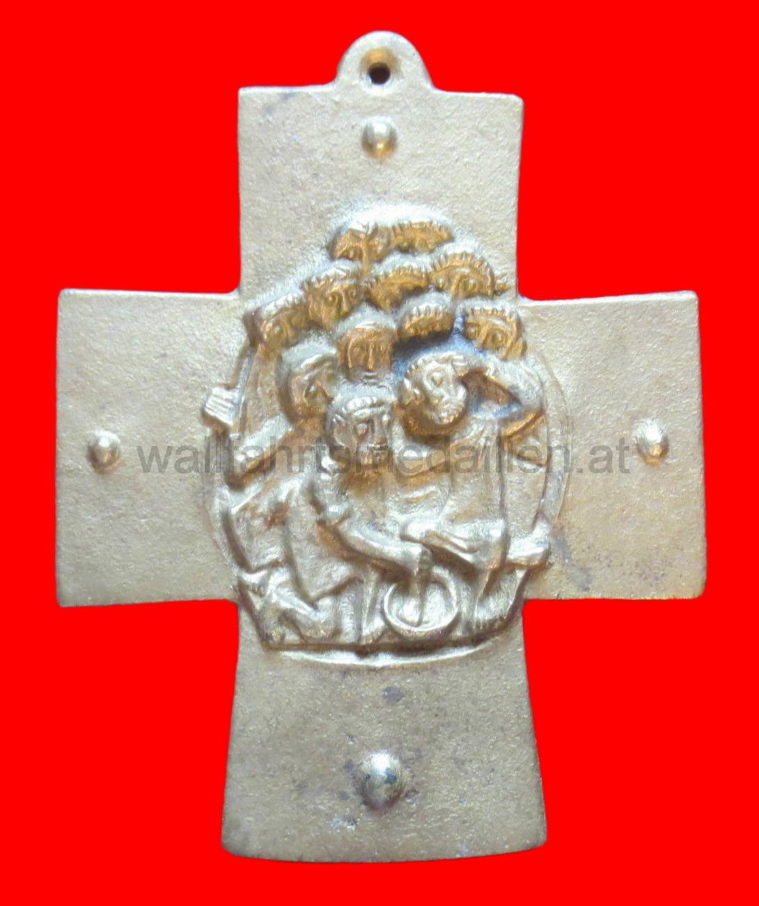 Bronzekreuz zur heiligen Kommunion