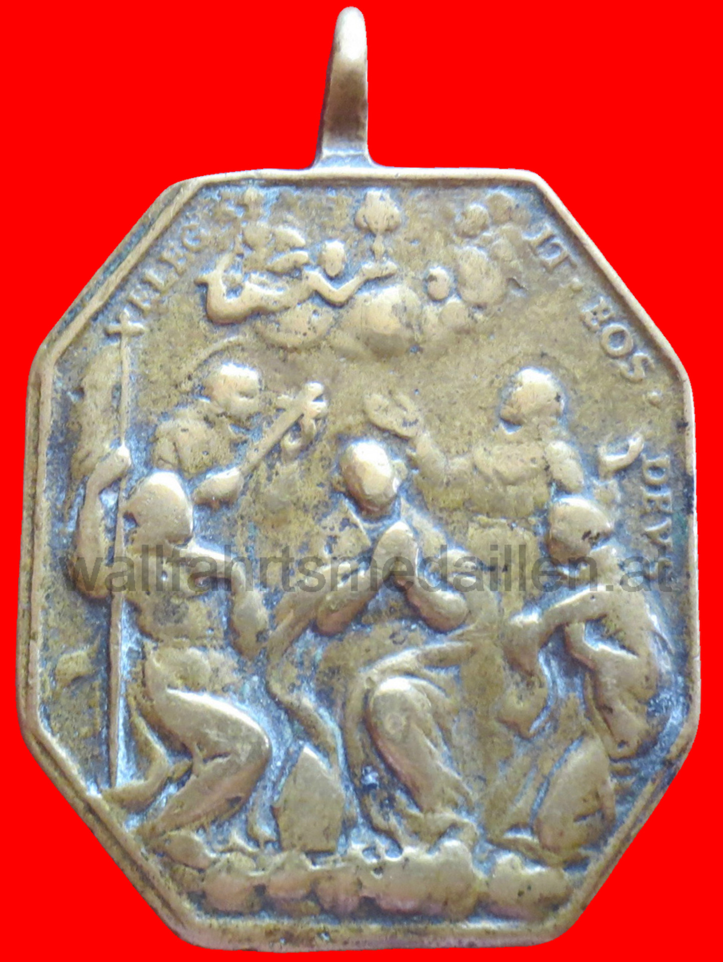 Alegorie der Heiligsprechung von 5 Heiligen