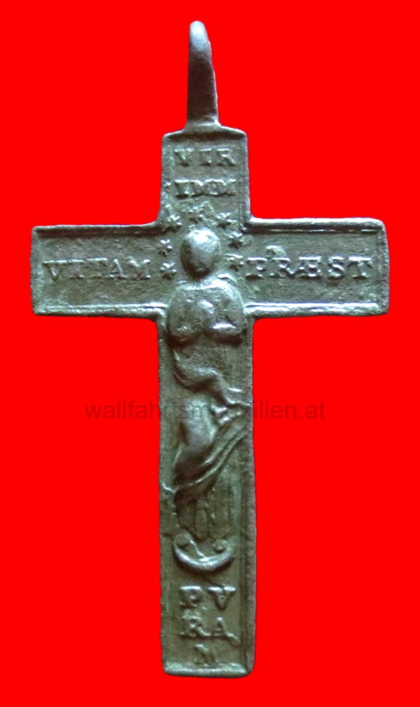 Bronzekreuz aus dem Barock